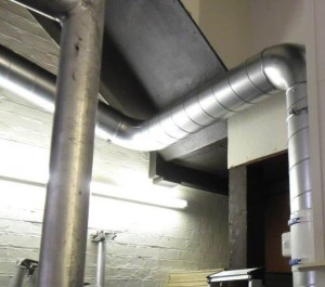Ducting install Westminster Cathedral