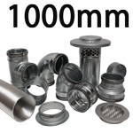 Metal Ducting - 1000mm Round System