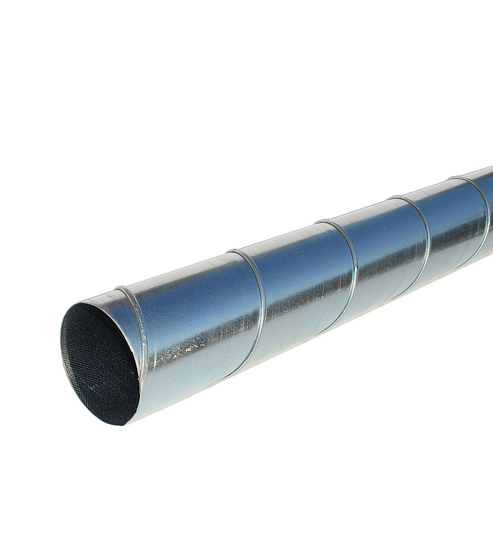 Galvanised spiral duct metre length mm