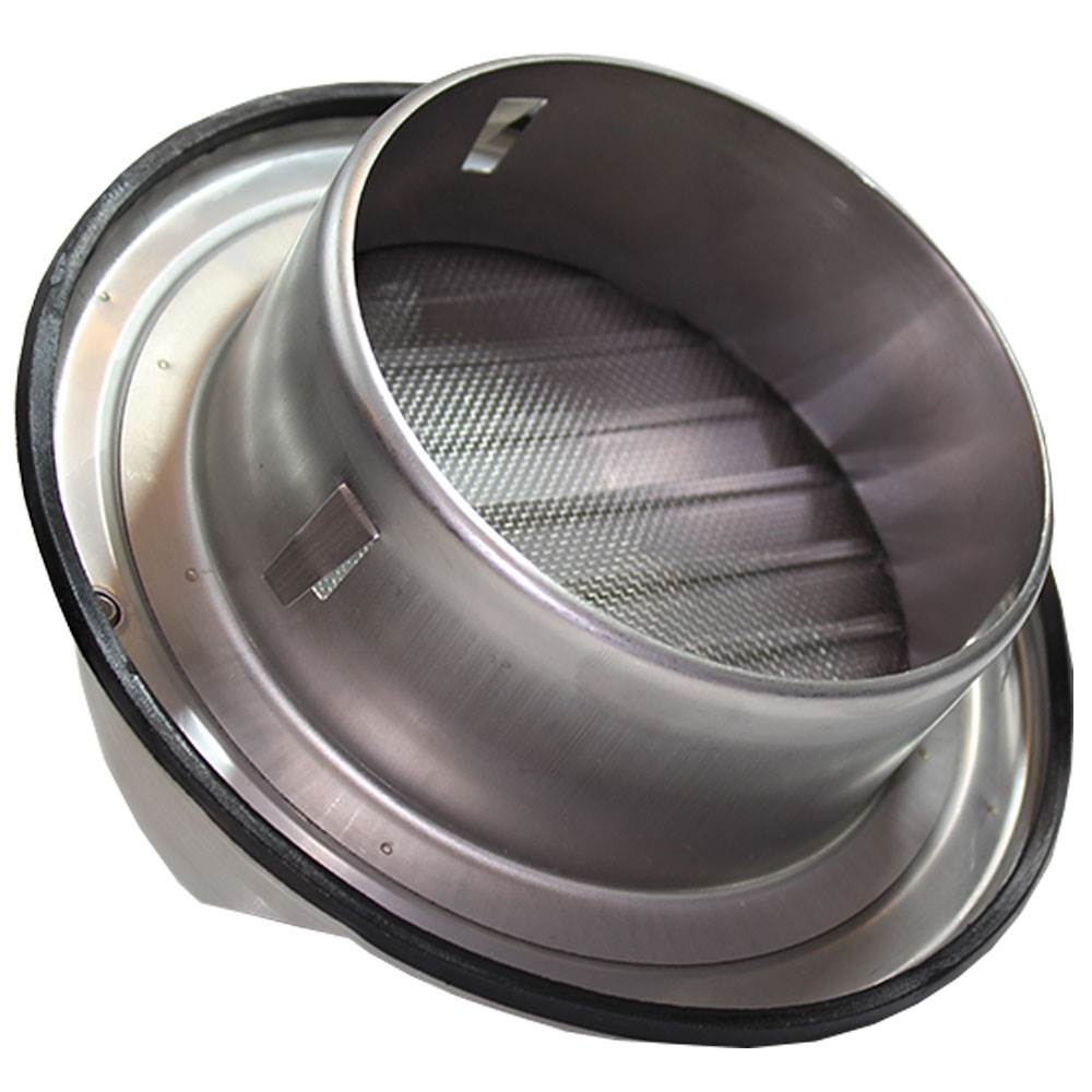 Stainless Steel Duct Grille : Ducss mm bull nose vent with louvres