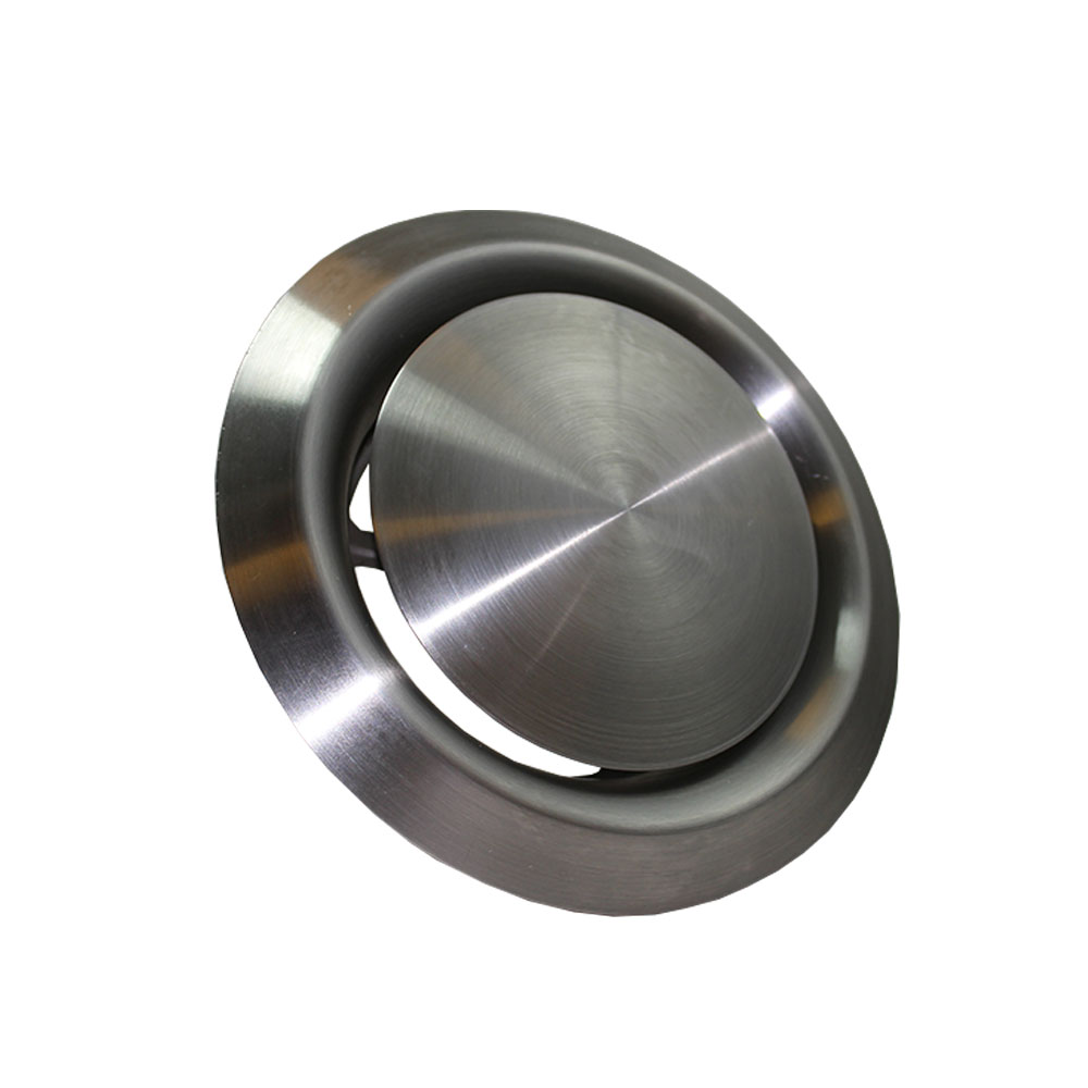 Mm ceiling exhaust and supply valve stainless steel