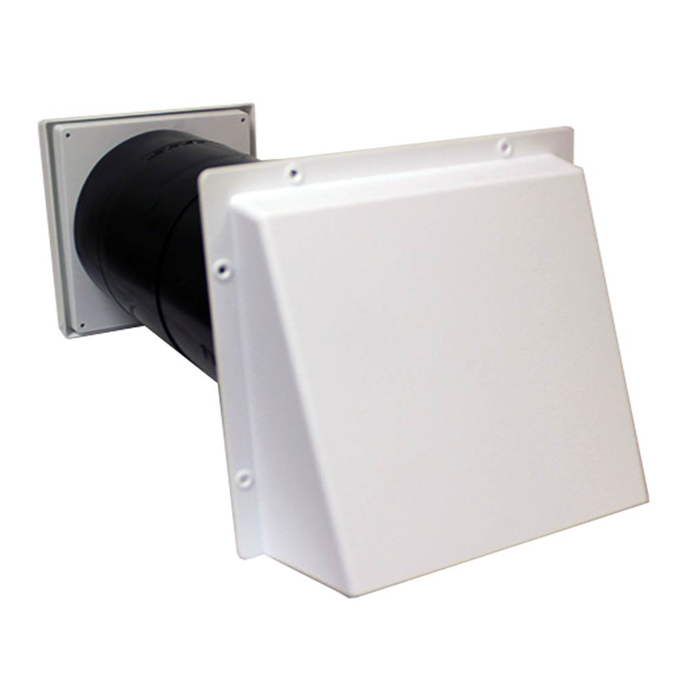 COWLED 150MM AIRCORE - WHITE  - LIGHT+DRAFT REDUCING