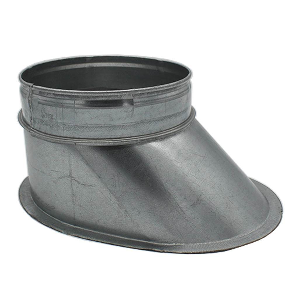 GALVANISED FLAT SHOE - 150MM