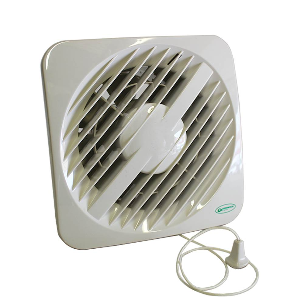 Greenwood Select 100mm Ht Fan With Pull Cord With Gravity Sh