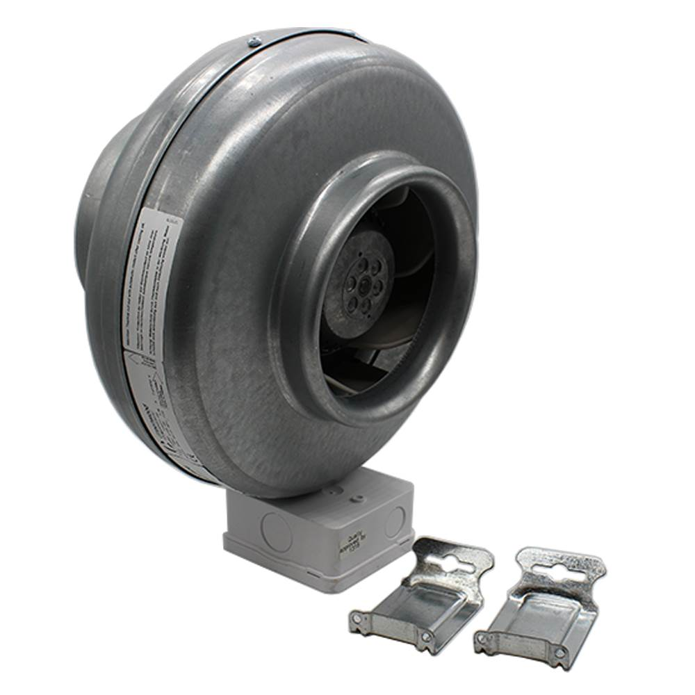 GREENWOOD SUPERDUCT 150MM CENTRIFUGAL INLINE FAN