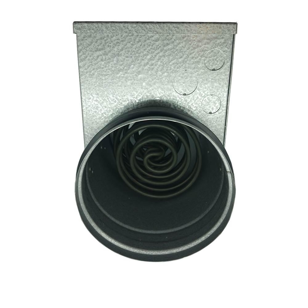 In Line Duct Fan Heater : Mm in line duct heater watts v phase