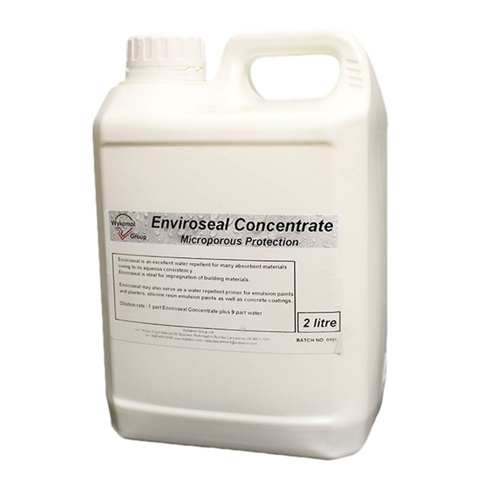 ENVIROSEAL EXTERNAL WATER REPELLENT CONCENTRATE 2 LTRS PENETRATING DAMP SPRAY TREATMENT