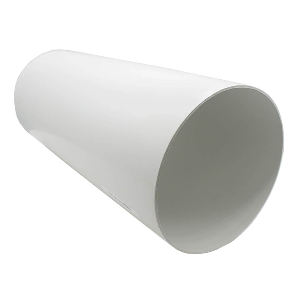 Kair Plastic Ducting Pipe 150mm - 6 inch / 350mm Short Length Rigid Straight Duct Channel