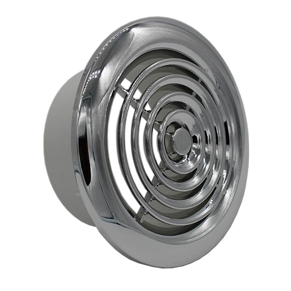 Manrose 2150C Chrome 150mm Ceiling Grille | Vent Covers