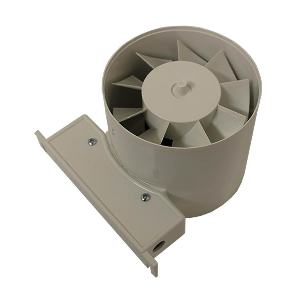 Manid100t Manrose Id100t Inline Duct Fan Timer 100mm