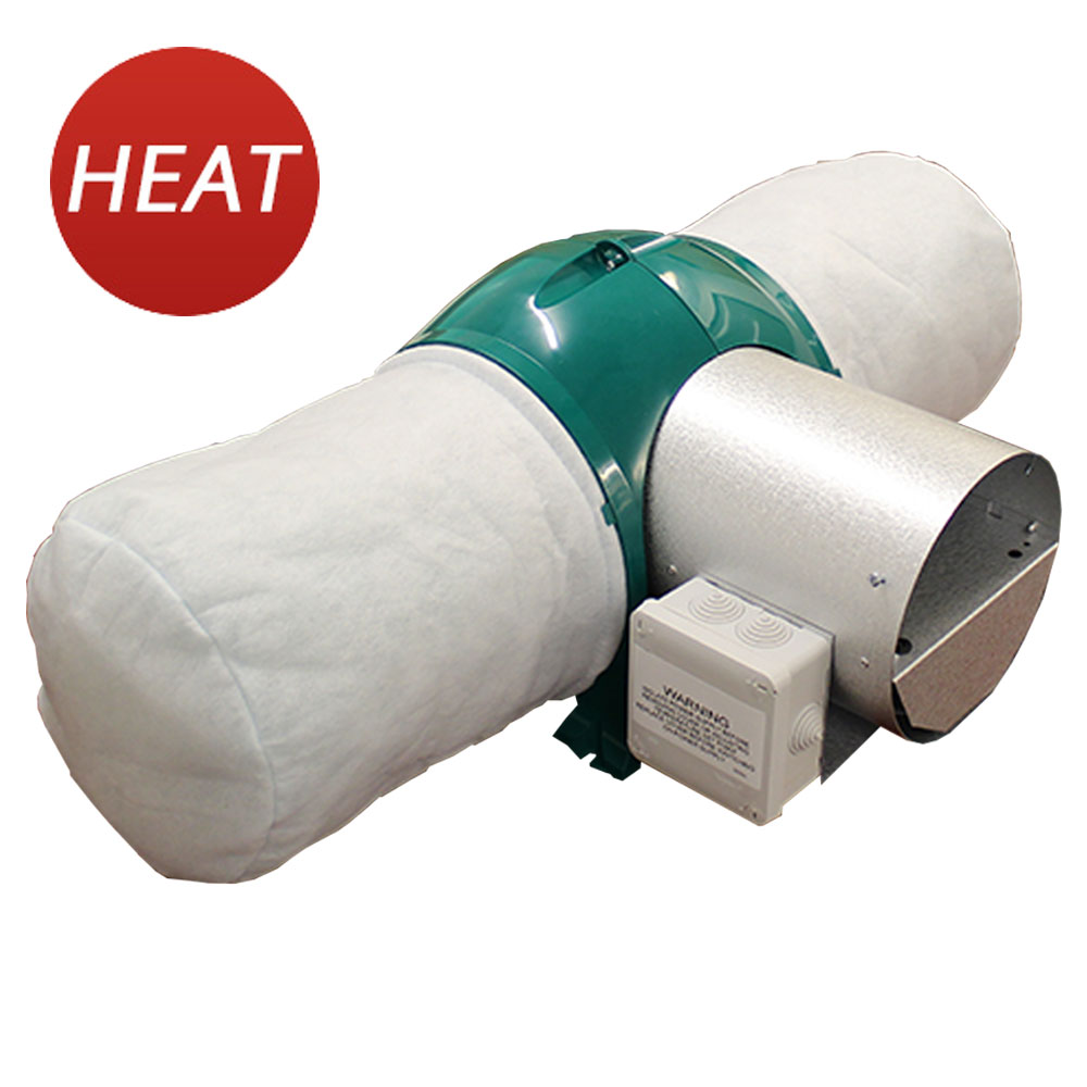 Drimaster Heat Positive Pressure Unit By Nuaire Green Version - Full 5 Year Warranty