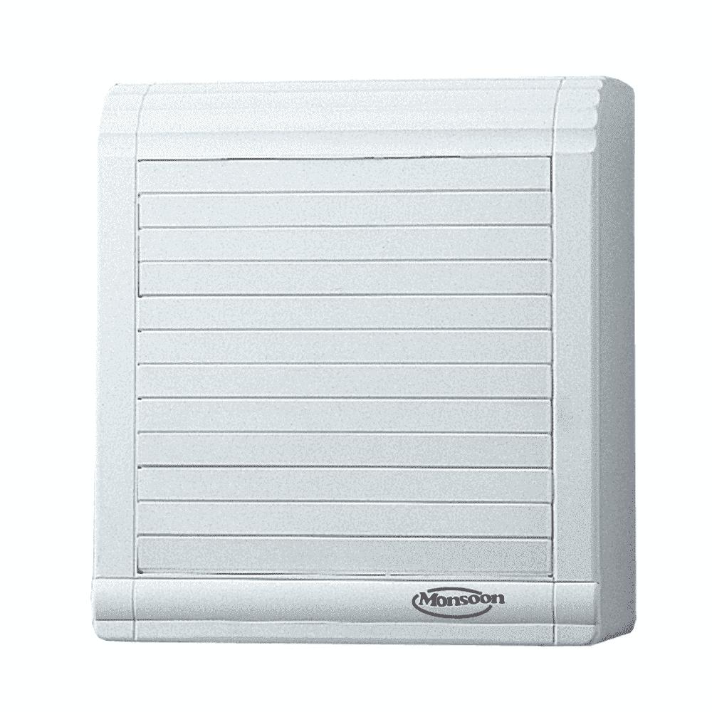 Reversible Axial Fans : Monoa a mm reversible auto shutter fan m hr