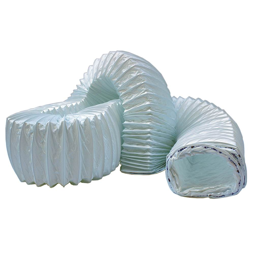 Kair system rectangular pvc flexible hose mm