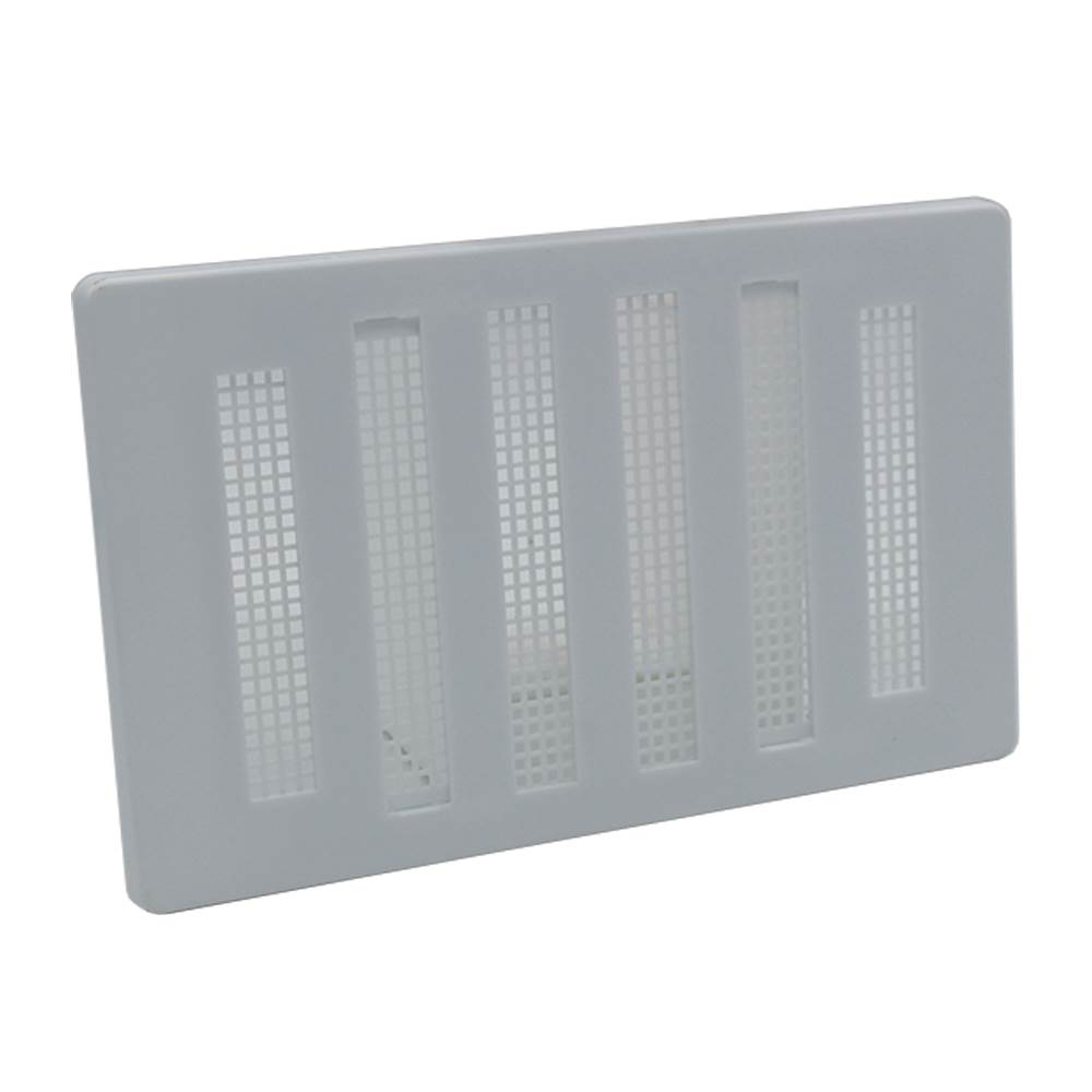 RYTONS 6X3 HIT & MISS VENTILATION GRILLE - WHITE PLASTIC