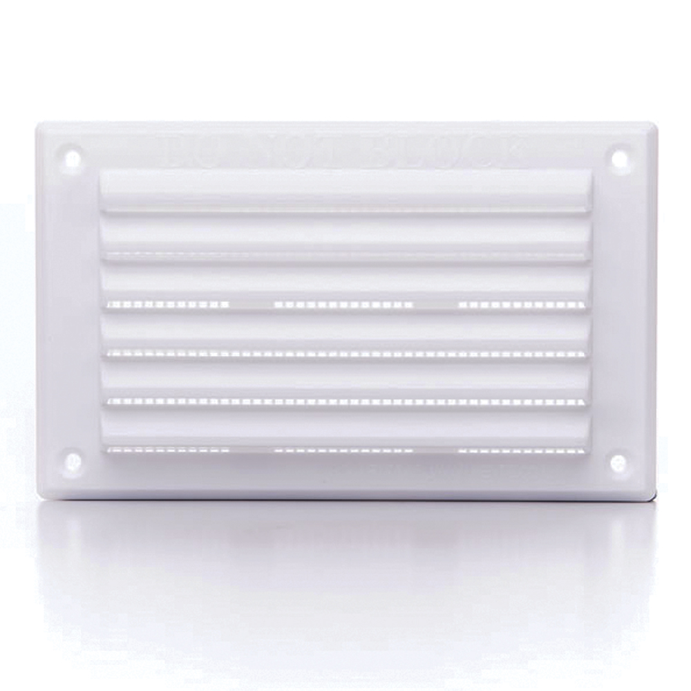 RYTLV25F - RYTONS 6X3 LOUVRE VENTILATION GRILLE WITH FLYSCREEN