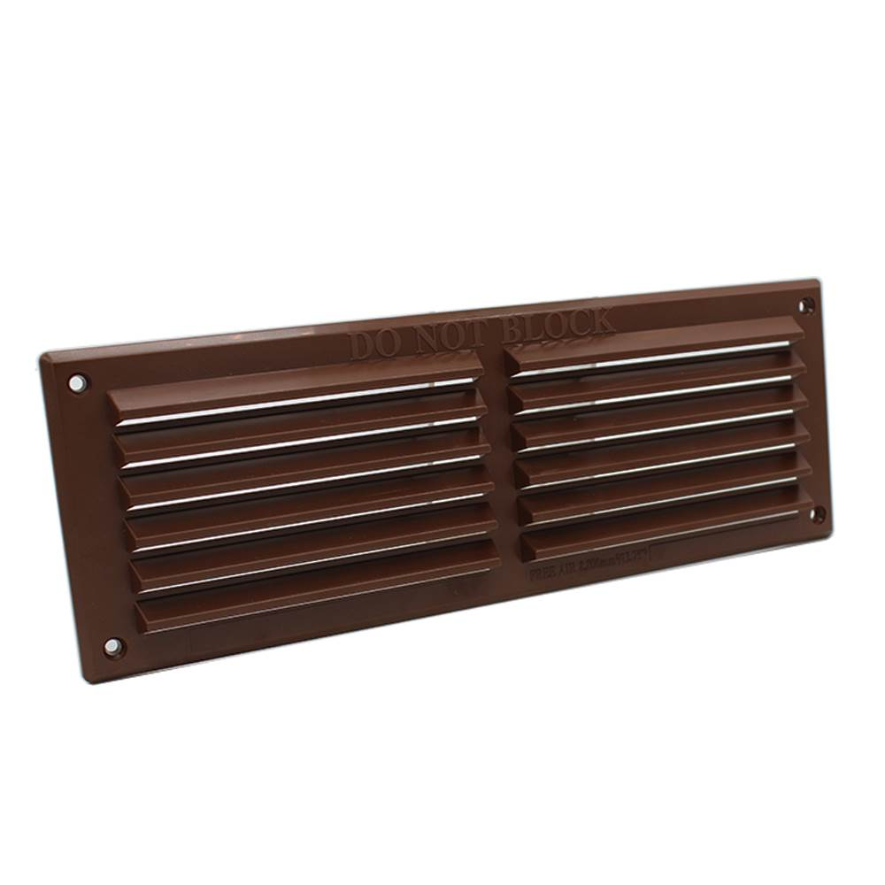 rytlv88br rytons 9x3 louvre ventilation grille brown. Black Bedroom Furniture Sets. Home Design Ideas