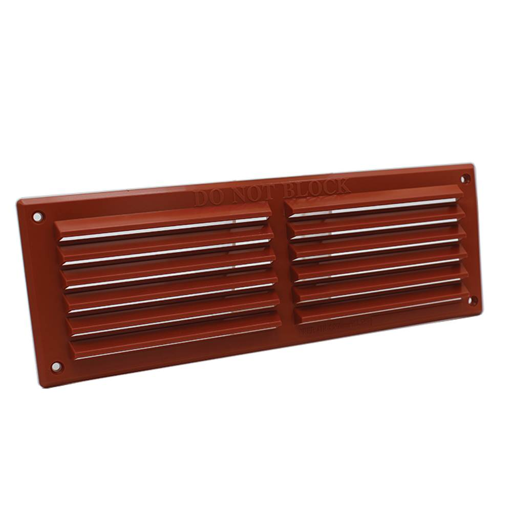 Rytons 9X3 Louvre Ventilation Grille - Terracotta