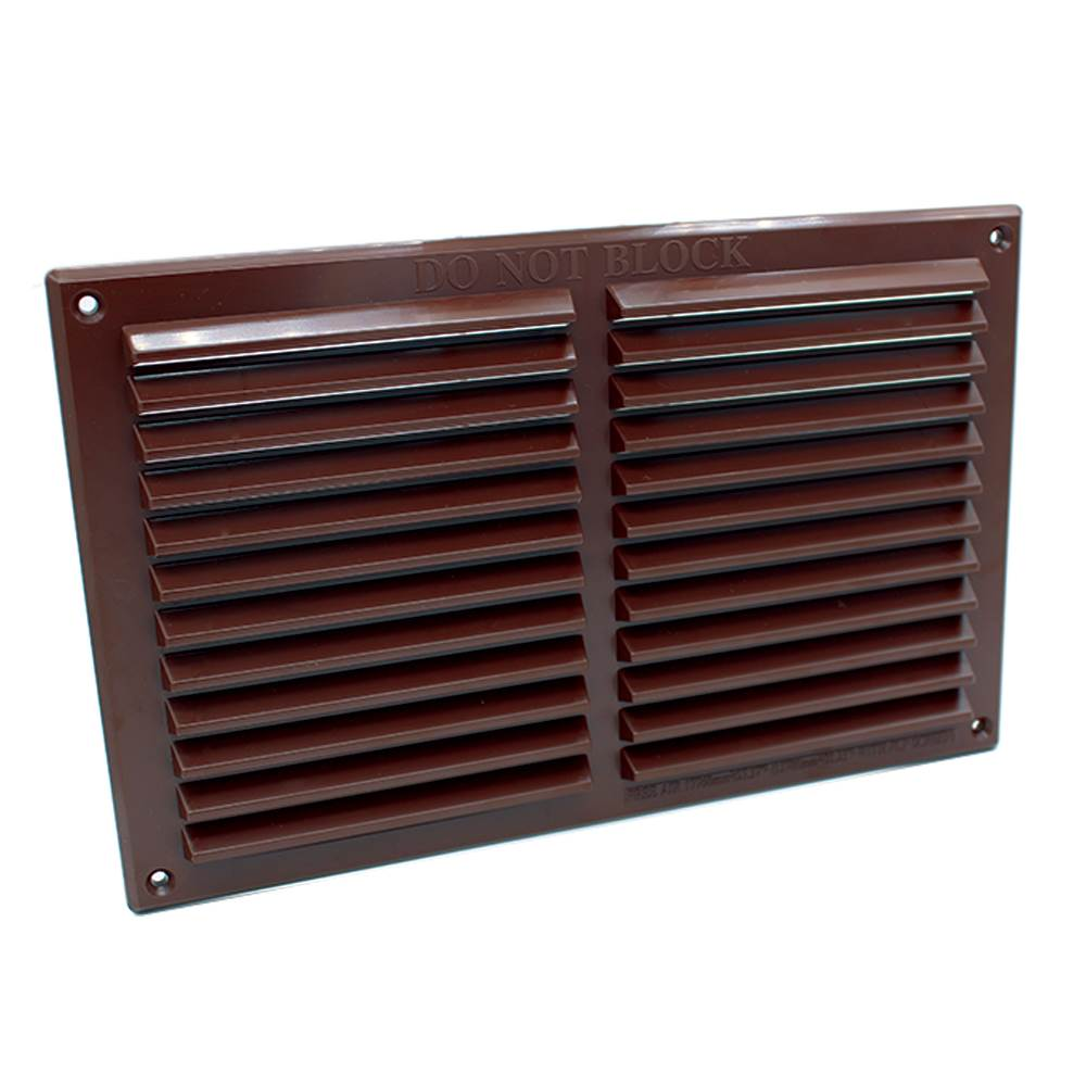 rytlv177br rytons 9x6 louvre ventilation grille brown. Black Bedroom Furniture Sets. Home Design Ideas