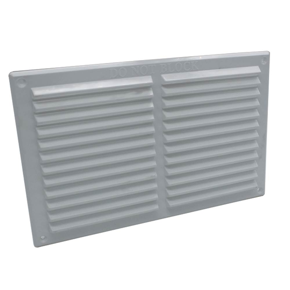 RYTONS 9X6 LOUVRE VENTILATION GRILLE - WHITE