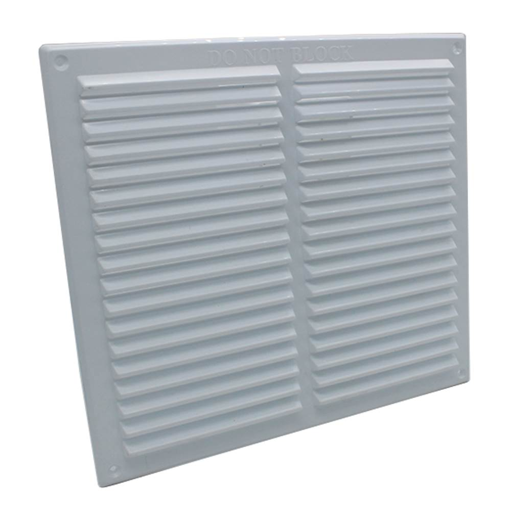 RYTONS 9X9 LOUVRE VENTILATION GRILLE - WHITE