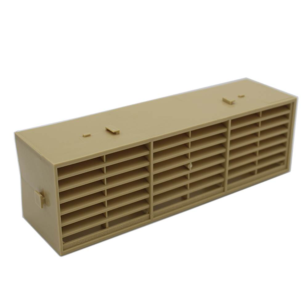 Rytons 9X3 Multifix Air Brick - Buff-Sand