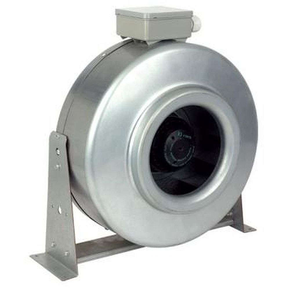Vensdx200h 200mm in line centrifugal sdx200hb vent axia for In line centrifugal bathroom fan