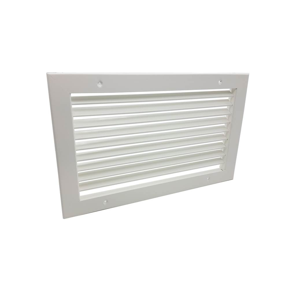 Single Deflection Grille - White - 450X250mm