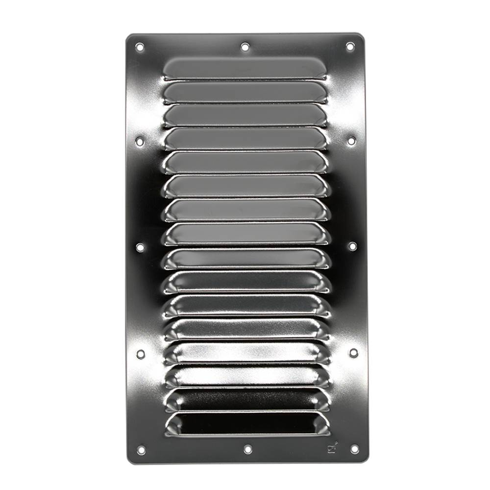 228mm X 126mm Ventilation Grille Stainless Steel
