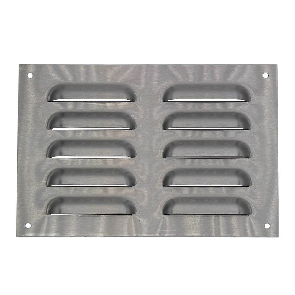 230mm X 153mm Ventilation Grille Stainless Steel