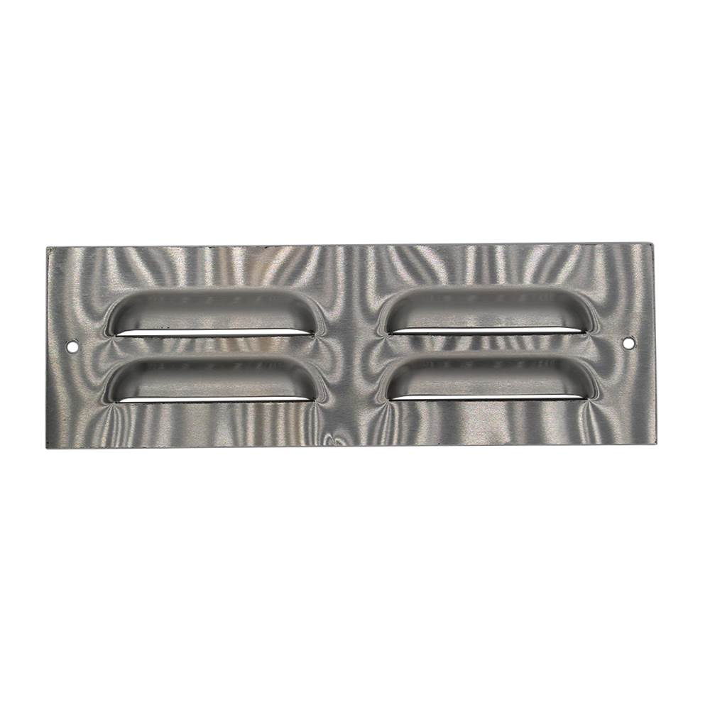 230mm X 76mm Ventilation Grille Stainless Steel
