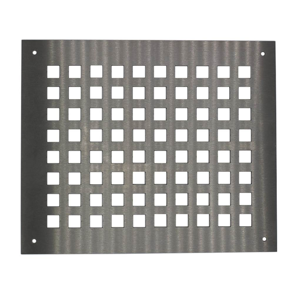 300mm X 250mm Ventilation Grille Stainless Steel