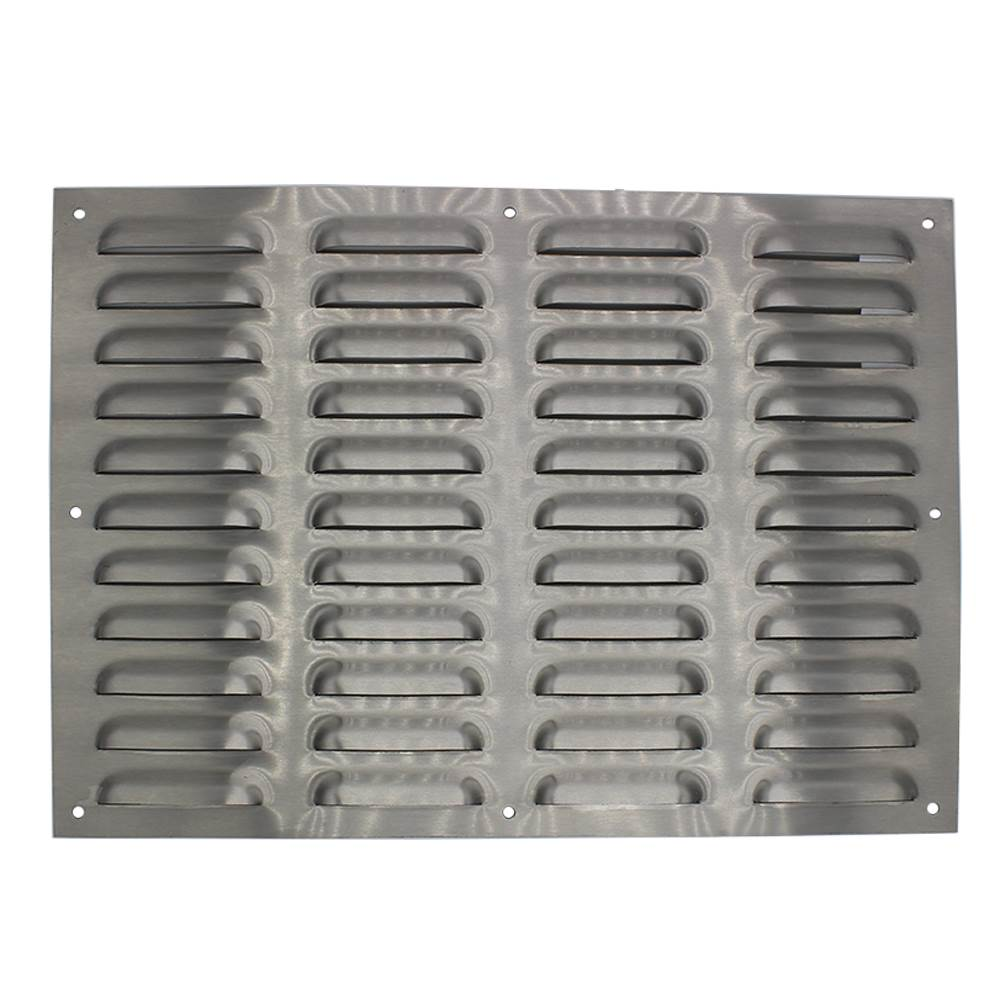 417MM X 297MM VENTILATION GRILLE STAINLESS STEEL