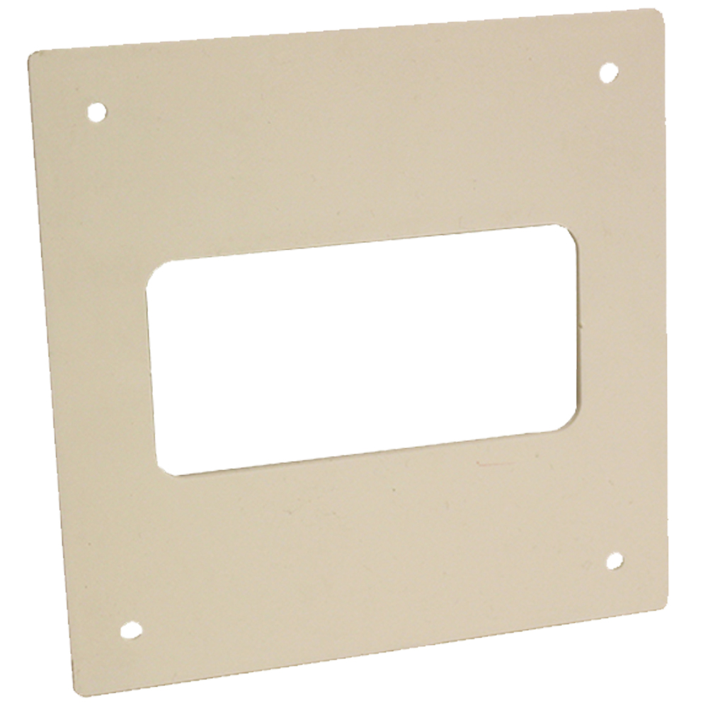 Kair Wall Plate 110x54mm for Rectangular Ducting