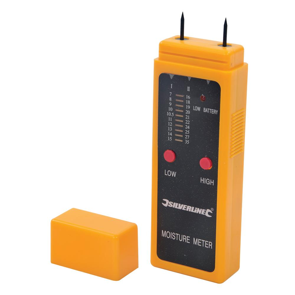 Too675304 silverline wood moisture meter for Wood floor moisture meter