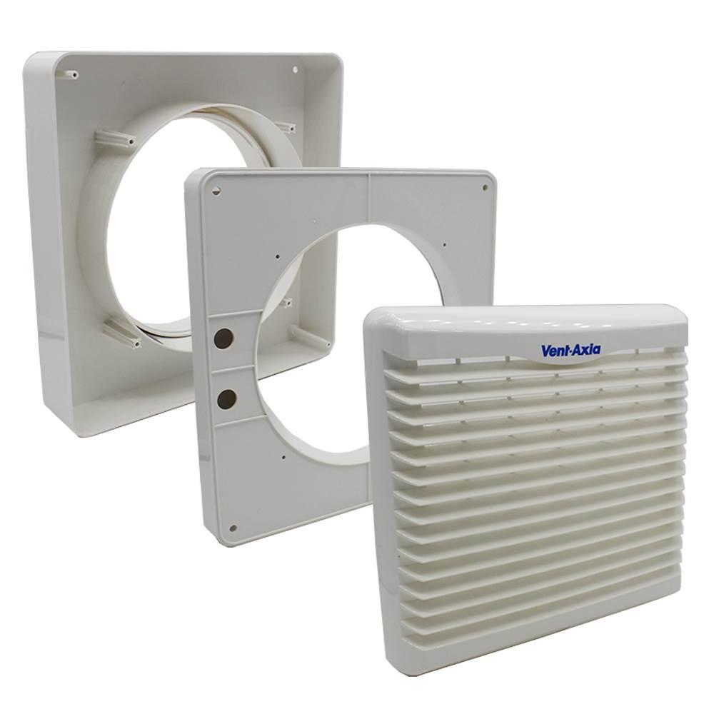 Venva140windkit vent axia va140 range window fitting kit for Window vent kit