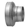 Galvanised Concentric Reducers - Pressed Short