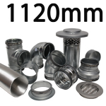 Metal Ducting - 1120mm Round System