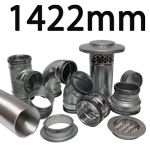 Metal Ducting - 1422mm Round System