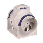 Vent Axia ACM100T In Line Fan 100mm Three Speed With Timer
