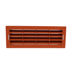 Airbrick Grille With Surround - VKC703, 753, 247 - Terracott