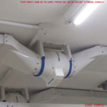 Vent Axia ACM200 Standard Model In Line Fan 200mm Three Speed