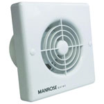 Manrose QF100P Quiet Pullcord Extractor Fan For Bathrooms