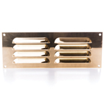 Rytons 9X3 Solid Brass Louvre Ventilation Grille