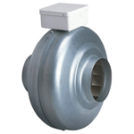 GREENWOOD SUPERDUCT 200MM CENTRIFUGAL INLINE FAN