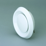 Domus Easipipe Rigid Duct 100mm Air Valve Extract Or Supply White