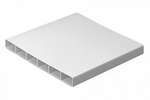 DOMUS PV LOW PROFILE 300 RIGID DUCT 308X29MM 1.5M LENGTH WHITE
