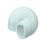 Domus Easipipe Rigid Duct 125mm 1M Hose White