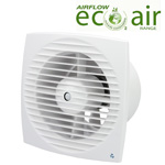 Airflow Aura-Eco 150HT Fan - 150mm Humidity/Timer