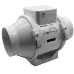 Aventa AV100T - 100mm In-Line Mixed Flow Fan With Timer