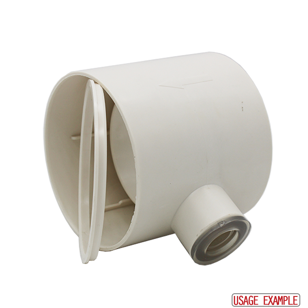 Condensation Trap With Overflow - 100mm